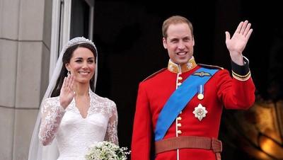8 Tahun Menikah, Kisah Cinta William & Kate Berawal dari Teman