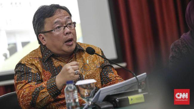Kepala Bappenas Bambang Brodjonegoro mengklaim investasi pembangunan ibu kota baru dapat menangkal risiko resesi ekonomi.