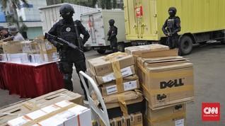 Bea Cukai Gagalkan Penyelundupan Ribuan HP dan Laptop