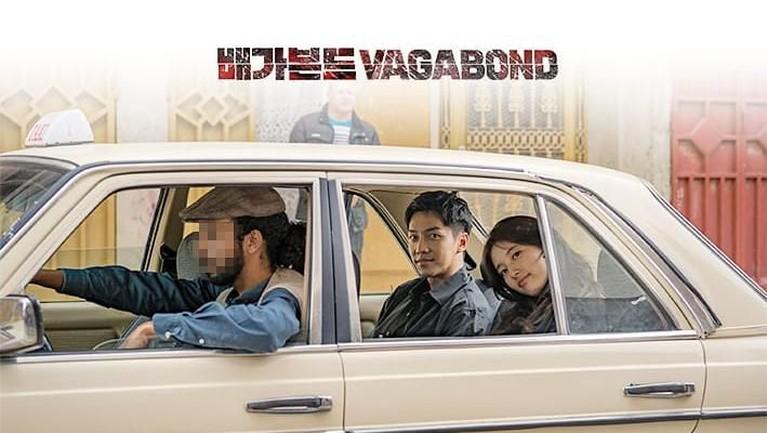 Vagabond. Bergenre action dan komedi drama ini mengisahkan tentang seorang stuntman yang bermimpi menjadi aktor terkenal. Drama ini akan tayang pada 8 Mei mendatang.