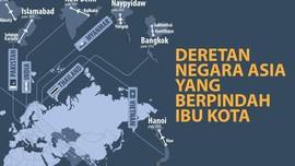 INFOG: Deretan Negara Asia yang Berpindah Ibu Kota