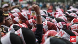 Jokowi Ucapkan Selamat Hari Buruh Lewat Animasi di Instagram