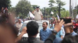 Didampingi Amien Rais, Prabowo Tiba di Lokasi Ijtimak Ulama
