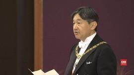 VIDEO: Kaisar Jepang Naruhito Resmi Naik Takhta