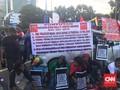 Eks Karyawan Freeport Tagih Janji Jokowi di Aksi May Day