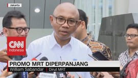 VIDEO: Asyik! Promo MRT Diperpanjang