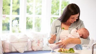 Daftar Makanan Bantu Turunkan Berat Badan Ibu Menyusui