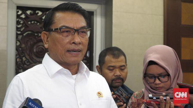 Moeldoko menilai seruan Politikus Gerindra Arief Poyuono agar masyarakat tak membayar pajak merupakan pendidikan politik yang tidak baik kepada masyarakat.