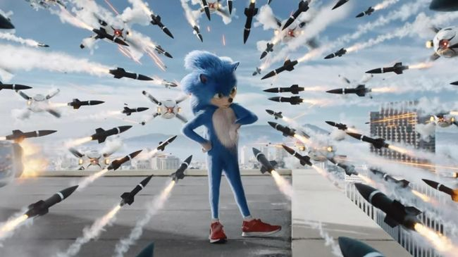 Penggemar menyebut desain Sonic dalam 'Sonic The Hedgehog' terlalu berbulu dan terlalu lebar, namun sang eksekutif produser tak sepakat.