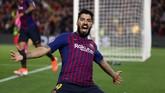 Barcelona meraih kemenangan tiga gol tanpa balas ketika menjamu Liverpool pada semifinal Liga Champions di Stadion Camp Nou, Kamis (2/5) waktu Indonesia barat.