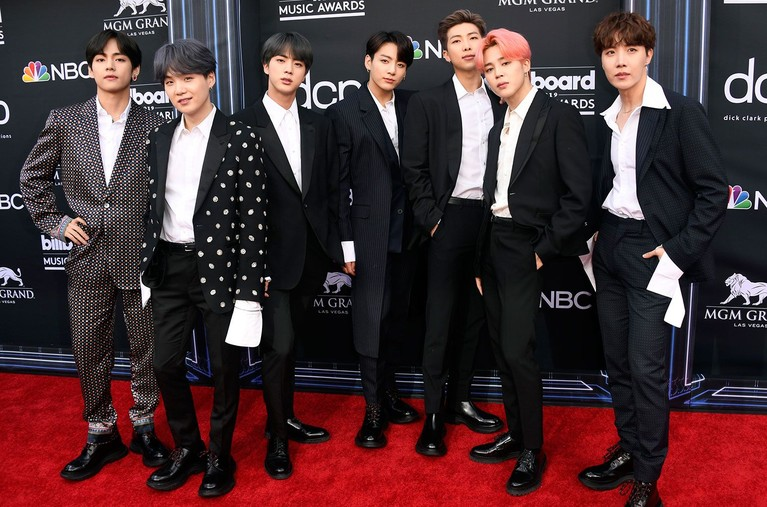 BTS di Red Carpet Billboard Music Awards 2019!