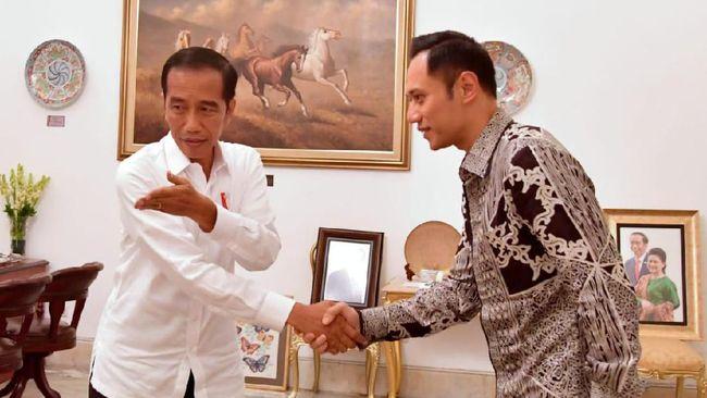 Ketua Umum Partai Demokrat AHY berterima kasih kepada Presiden Jokowi usai Menkumham Yasonna Laoly menolak untuk mengesahkan Demokrat hasil KLB.