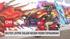 VIDEO: Inilah, 'Penampakan' Skuter Listrik Karya Anak Bangsa