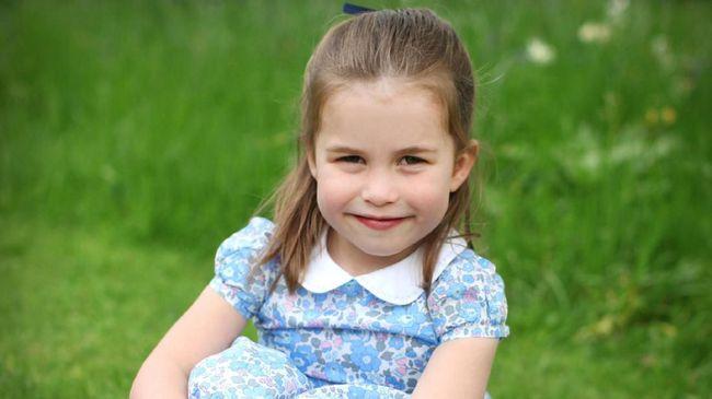 Putri Charlotte merayakan ulang tahunnya yang keempat pada Kamis (2/5). Untuk merayakan ulang tahunnya yang keempat.