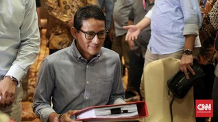 Jokowi Resmi Tunjuk Sandiaga Uno Jadi Menteri Parekraf