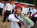 FOTO: 'Menitip' Doa pada Roket di Myanmar