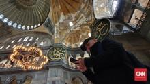 Lika Liku Hagia Sophia dari Museum Kembali jadi Masjid