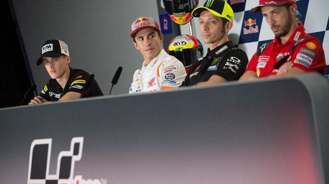 Marc Marquez mengatakan ingin menjadi salah satu legenda MotoGP di tim Honda seperti Valentino Rossi, Mick Doohan, dan Dani Pedrosa.