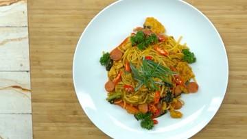 Menu Buka Puasa: Spaghetti Tek-tek, Kreasi Pasta dengan Rasa Beda