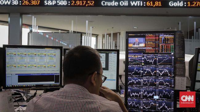 IHSG diproyeksi bergerak lesu pada perdagangan Selasa (26/11) karena sentimen buruk dari dalam dan luar negeri.