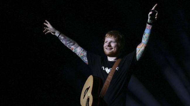 Ed Sheeran Bantah Pamit dari Musik