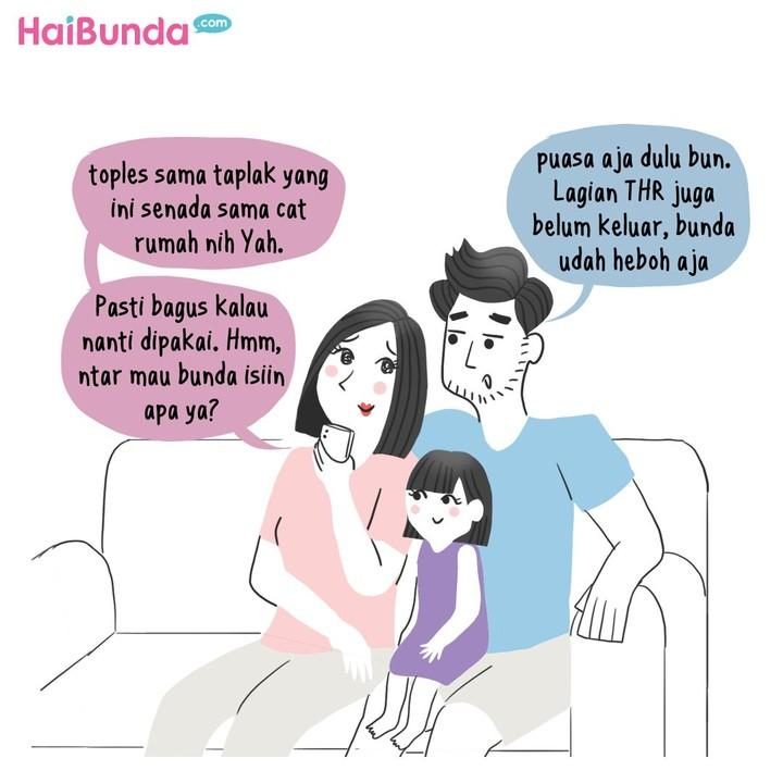Ini yang dilakukan Ayah dan Bunda saat menyambut Ramadhan. Kalau di keluarga Bunda, apa yang biasa dilakukan nih?