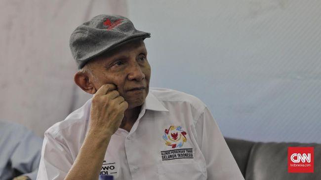 Anggota Dewan Pembina BPN Prabowo Subianto-Sandiaga Uno, Amien Rais, menyatakan terpaksa menempuh jalur hukum soal hasil Pilpres 2019.