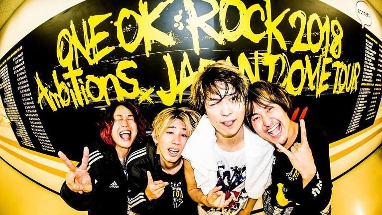 One Ok Rock terpilih sebagai band pembuka dari konser Ed Sheeran di Gelora Bung Karno, Jakarta.