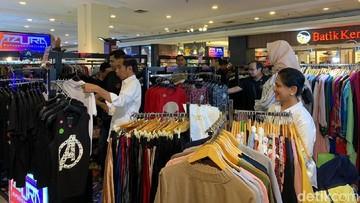 Keseruan Jokowi dan Iriana Belanja Persiapan Ramadhan