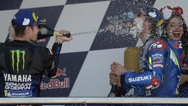 MotoGP Spanyol Diwarnai Selebrasi 'Gila' 3 Pebalap Tuan Rumah