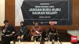 Koalisi Peduli Covid-19 Desak RKUHP dan Omnibus Law Disetop