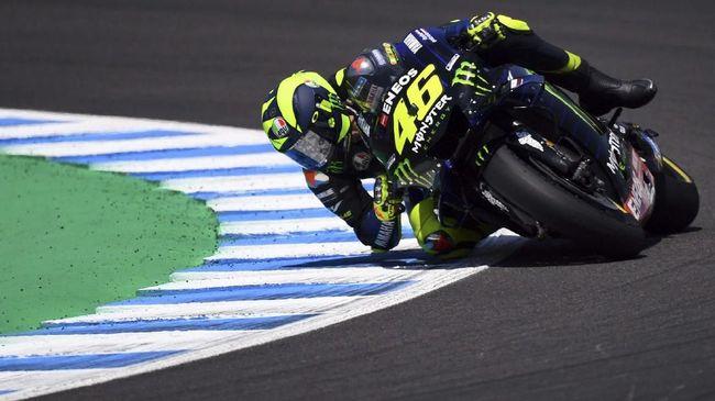 Valentino Rossi mengaku bisa mendapat posisi finis lebih baik di MotoGP Spanyol bila saja ia memulai lomba dari posisi start lebih depan