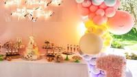 Nah, kalau ini dekorasi pesta ulang tahun True Thompson. Bisa jadi inspirasi buat ulang tahun si kecil nih. (Foto: Instagram @khloekardashian)
