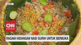 VIDEO: Ragam Hidangan Nasi Gurih untuk Berbuka Puasa
