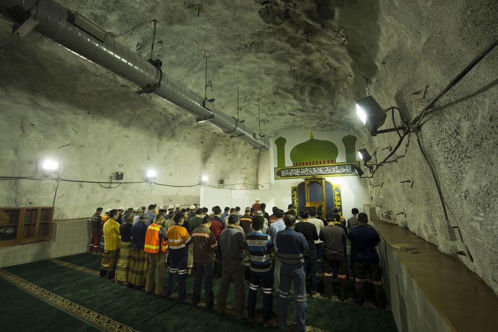 Rumah ibadah ini memang sengaja dibangun oleh Freeport agar para pekerjanya bisa tetap beribadah. (dok. PT Freeport Indonesia)