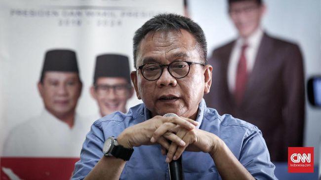 Ketua DPP Gerindra DKI, M Taufik memastikan Sandiaga Uno tak akan kembali menduduki kursi Wagub DKI yang ditinggalkan pada Agustus 2018 lalu.