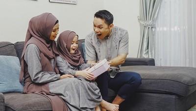 Cerita Seru Ben Kasyafani Ajari Putrinya Puasa Pertama Kali
