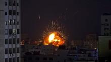 Rudal Israel Hancurkan Satu-satunya Lab Corona di Jalur Gaza