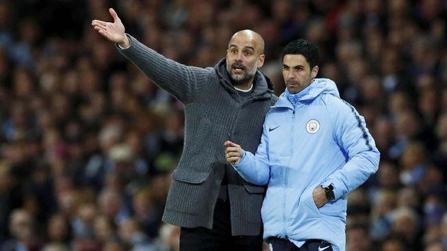 Mantan kapten Manchester City, Vincent Kompany, merasa Mikel Arteta pantas menjadi manajer The Citizens jika Pep Guardiola hengkang dari Stadion Etihad.