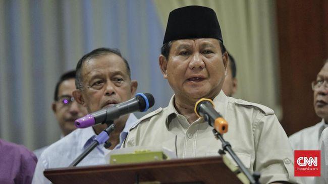 Juru Bicara BPN Andre Rosiade menyebut surat wasiat Prabowo Subianto berisi tiga pesan penting yang ditujukan ke koalisi dan masyarakat.