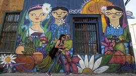 Imbas Corona, Pertumbuhan Ekonomi Chili Turun 14 Persen