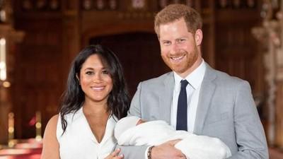Pangeran Harry dan Meghan Markle Tak Sabar Ajak Archie ke Afrika