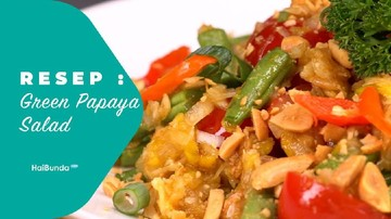 Resep Green Papaya Salad