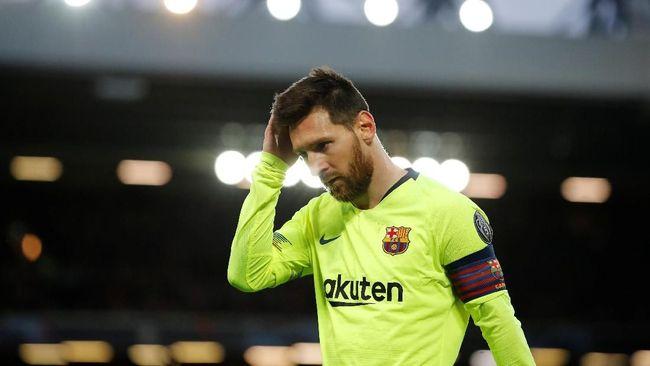 Mantan pemain timnas Brasil Ronaldo Nazario mengatakan Lionel Messi tak akan pernah disalahkan meski Barcelona kalah.