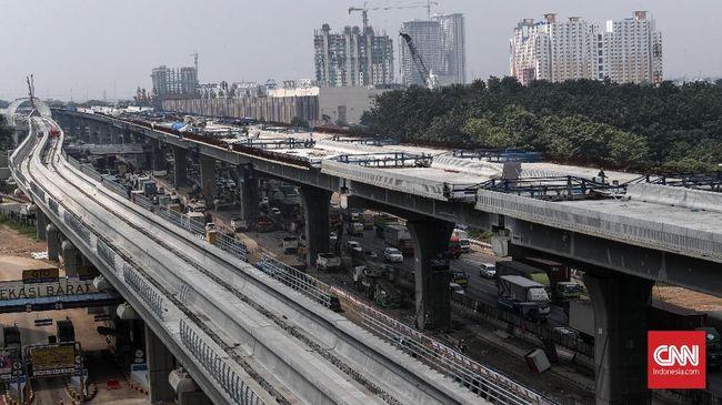 Jasa Marga menyatakan Jalan Tol Layang Jakarta- Cikampek II baru bisa beroperasi pada libur Natal dan Tahun Baru 2019, molor dari target awal.