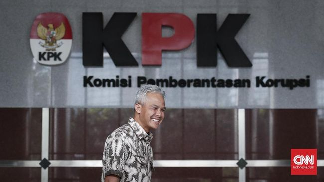 Gubernur Jateng Ganjar Pranowo mengaku juga turut melibatkan pihak KPK untuk memantau pengesahan APBD.