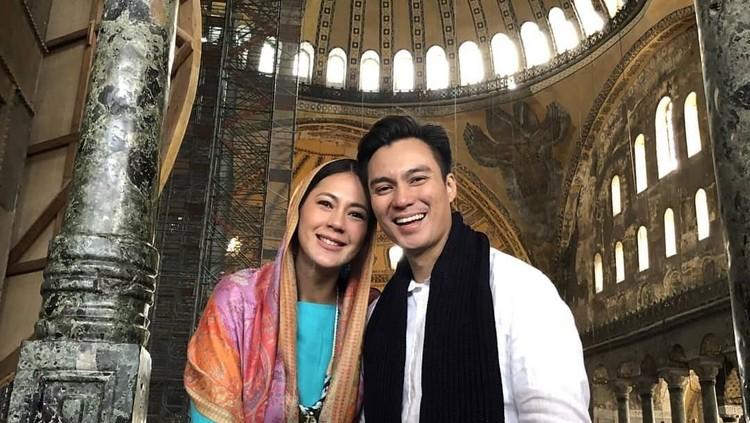 Cara Baim Wong & Paula Main Bareng Si Kecil di Kandungan