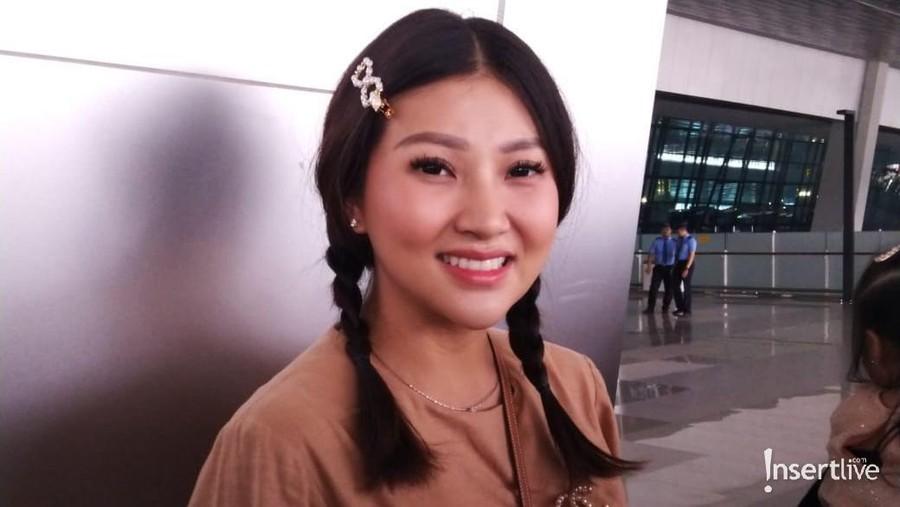 Jelang Lahiran, Sarwendah ke Singapura Tanpa Ruben Onsu