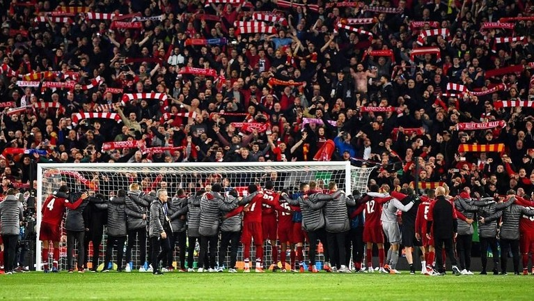 Liverpool akan bertemu dengan Tottenham Hotspurs dalam pertandingan final Piala Champions League di kota Madrid pada 1 Juni 2019.