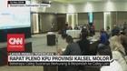 VIDEO: Rapat Pleno KPU Provinsi Kalsel Molor